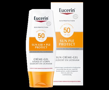 976fa8aeb4f2fc Huidreactie door de zon | Sun PLE Protect Gel-Crème SPF 50